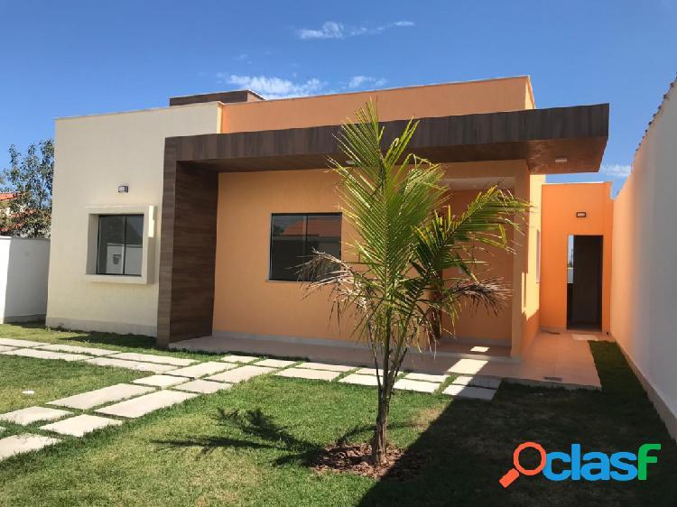 Linda casa com 3 quartos e área gourmet em itaipuaçu