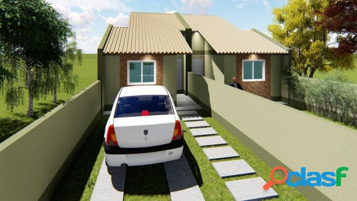 Casa em construção no bairro boa vista