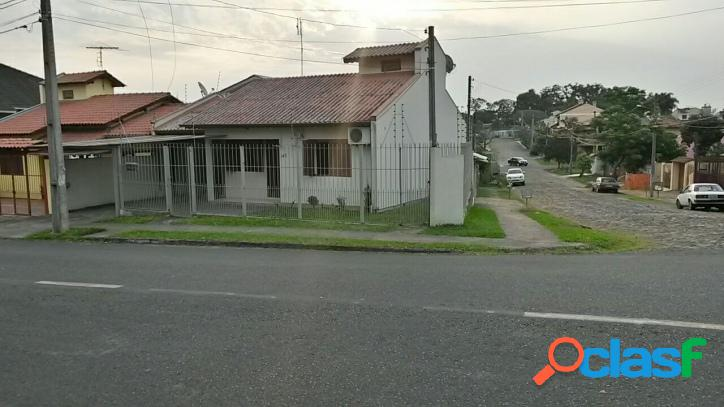 Casa de esquina no bairro paraiso