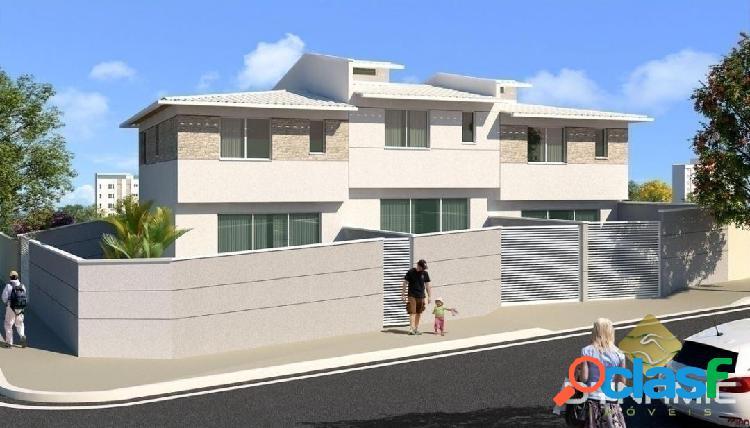 Casa individual 3q 2v bairro santa amélia