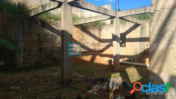 Jardim dos alfineiros - exc. terreno com obra iniciada - edinaldo santos