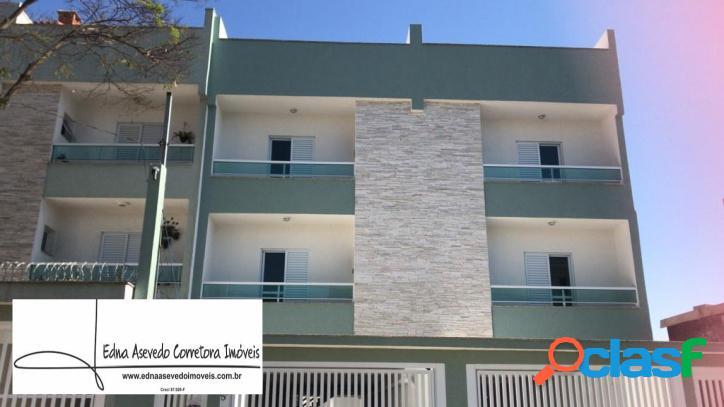 Apartamento s/cond.3 dorms.1 suíte - 2 vgs.vila humaitá - santo andré.