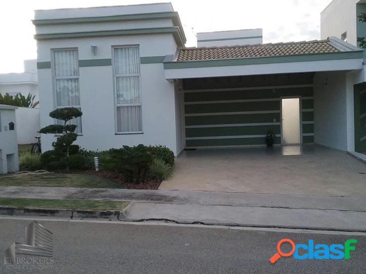 Casa térrea em condomínio ibiti royal park sorocaba