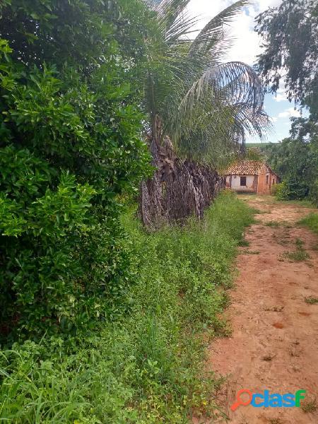 Ótima propriedade de 44ha em três marias - terreno plano - estuda permuta