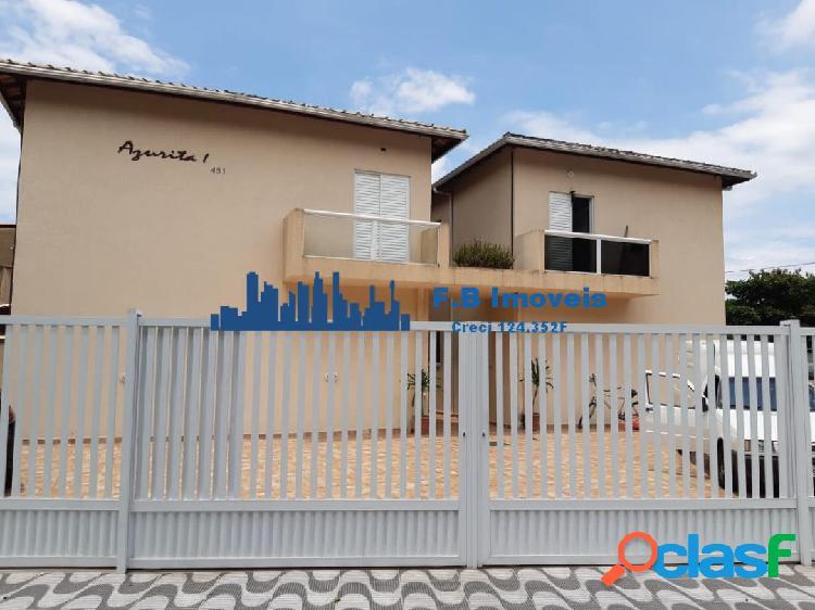 Excelente Casa Condomínio Para venda, 2 dormitório, Solemar.