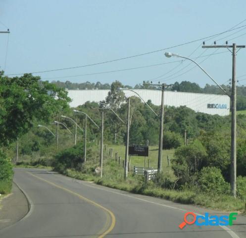 Área de 4 hectares, frente estrada da ambev, lagoa, águas claras/ viamão