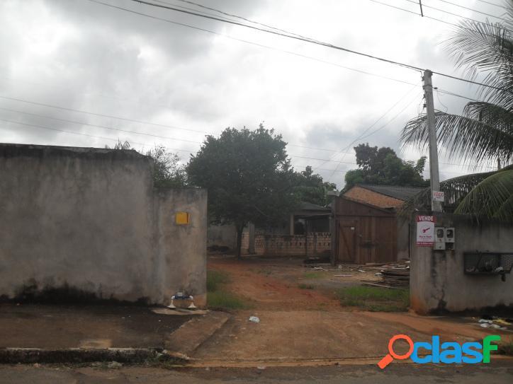 TERRENO COM ÁREA TOTAL DE 450 M² NO JARDIM AMAZÔNIA EM SORRISO-MT