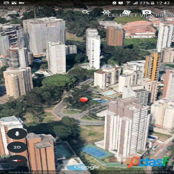 Terreno 836 m2 e 166 m2 a/c (ZC) no Portal do Morumbi SP, Morumbi 2