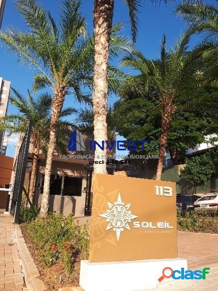 Morar em um resort ? condomínio club com mais de 60 itens de lazer. soleil.