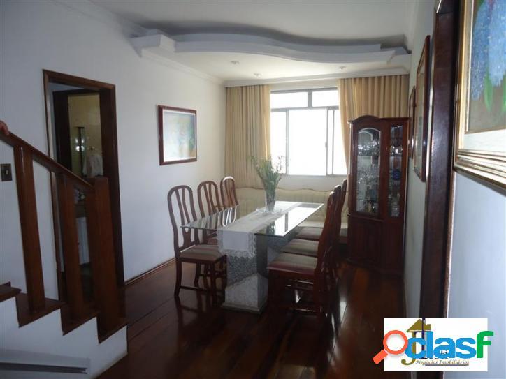 Cobertura, ótimo estado de conservação, 3 quartos, suite,varanda, closet, churrasqueira, vista panorâmica