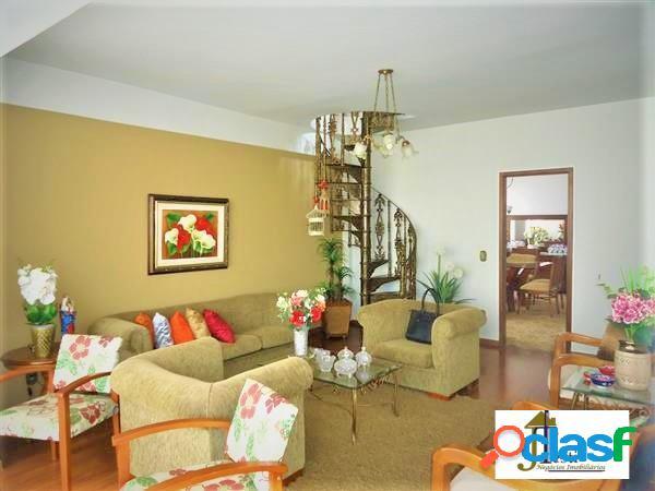 Ampla cobertura,190 m², 3 quartos, 3 salas, 2 vagas - b. sagrada família
