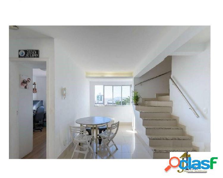 Cobertura triplex, 3 quartos, 1 suite e 2 semi suítes- b. sagrada família.