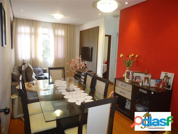 Apartamento 2 quartos, 1 vaga coberta e demarcada- bairro união