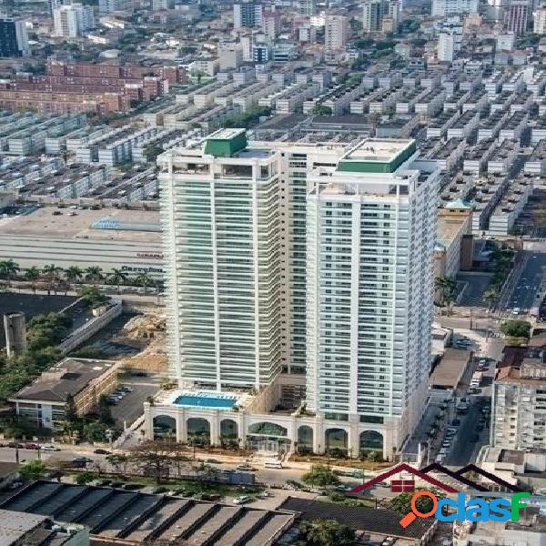 Apartamento - alto padrão edifício ville de france - santos