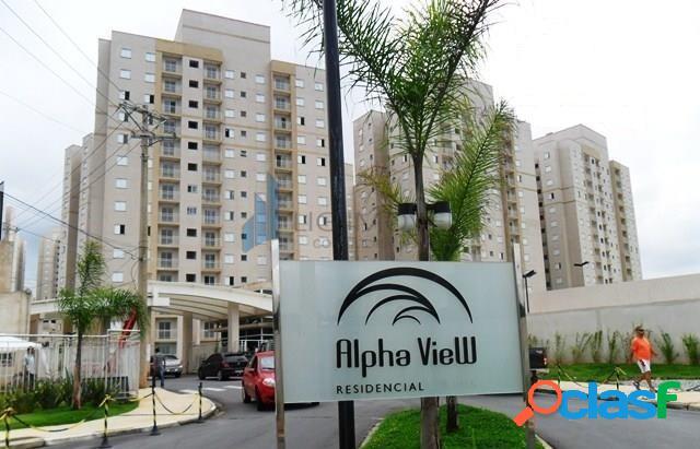 Apartamento 80 m 2 vagas - condomínio alphaview
