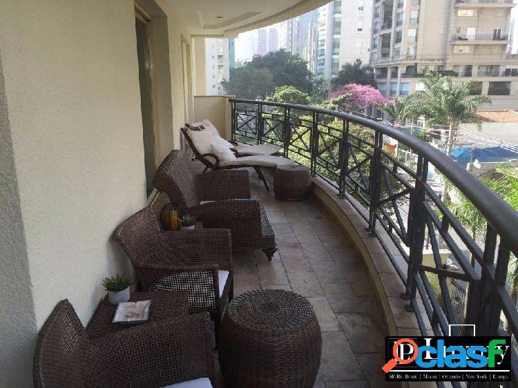 Apartamento a venda no itaim bibi | rua leopoldo couto de magalhães | 295m²