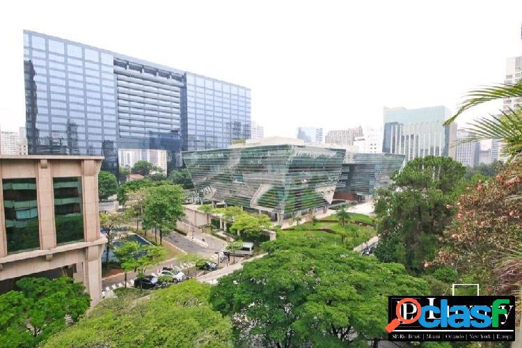 Apartamento no itaim bibi com 335m² com 4 dormitórios a venda