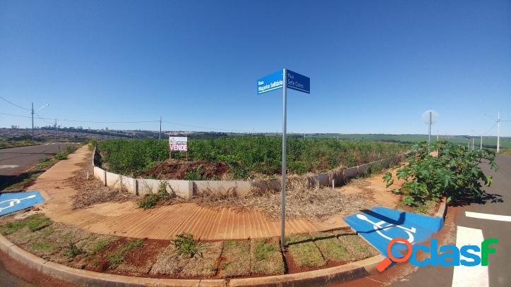 Terreno cidade jardim - lote 01 qd 42 - 407 m2 esquina