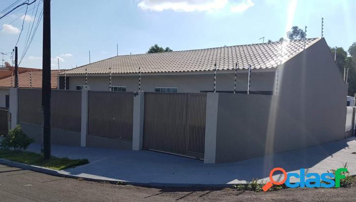 Casa nova com acabamento de primeira de 108 m2 rua juruva ca