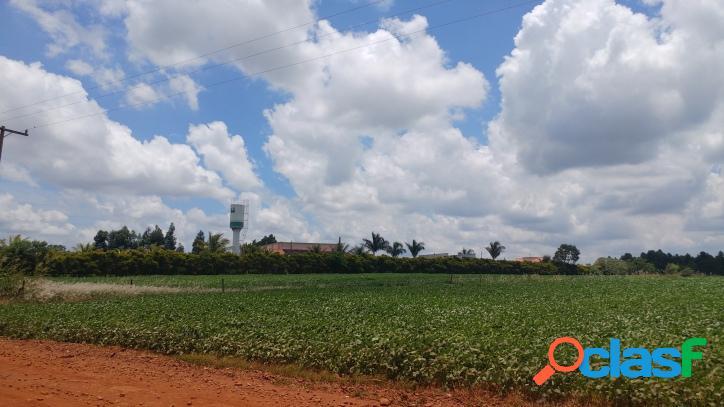 Lote/terreno rural +ou- 01alqueire(20.956,74 m2) c/55 frente