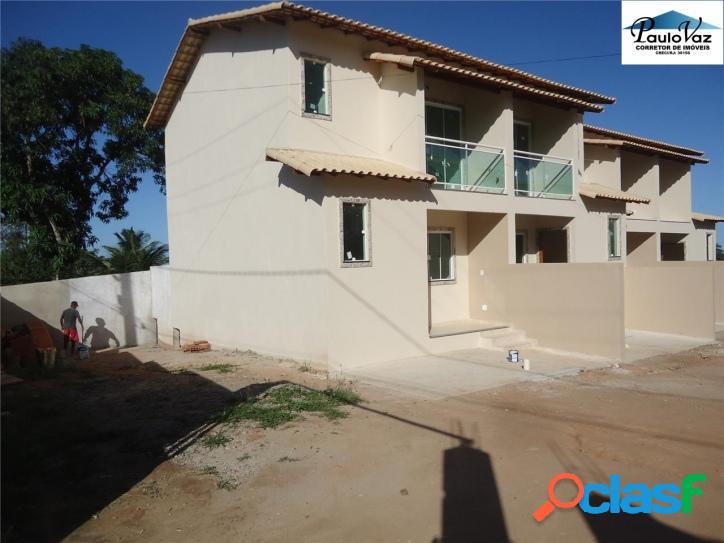 Casa duplex nova araruama rj bairro xv novembro 2 qts r$ 170 mil #vdcs275