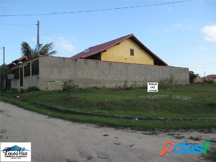 Terreno plano de esquina em araruama rj fazendinha #vdtr328