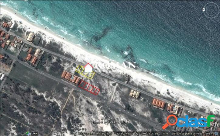 Lotes de 490 m² frente - mar!!!