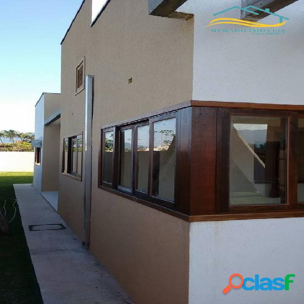 Casa com 03 dormitórios, pontal santa marina, caraguatatuba