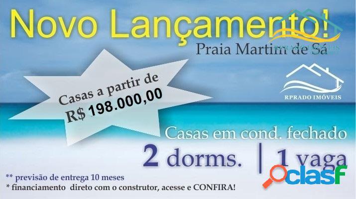 Casas novas em caraguatatuba, financiamento com construtor!