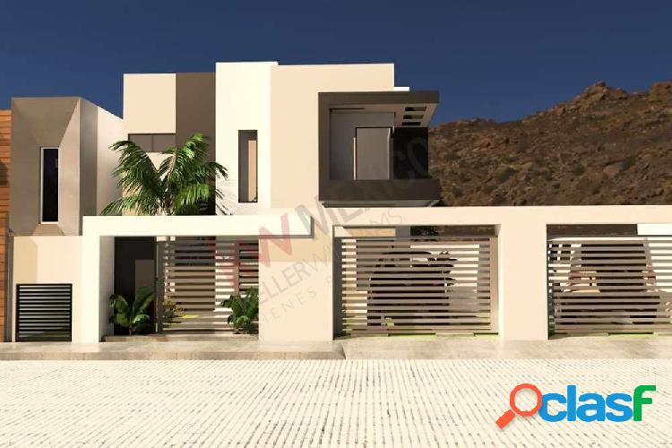 Casa en venta ensenada, playas de chapultepec. cerca de la playa.