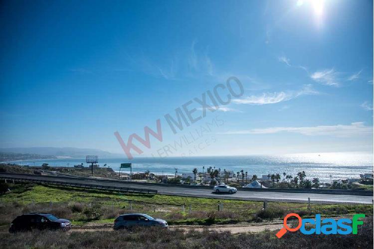 Terreno residencial en venta cerca de la playa con vista al mar