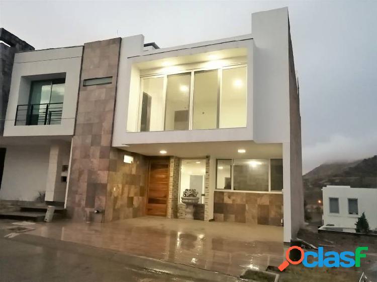 Casa nueva con roof garden en senderos de monte verde, tlajomulco