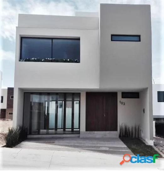 Casa nueva con roof garden en coto madeiras, zapopan