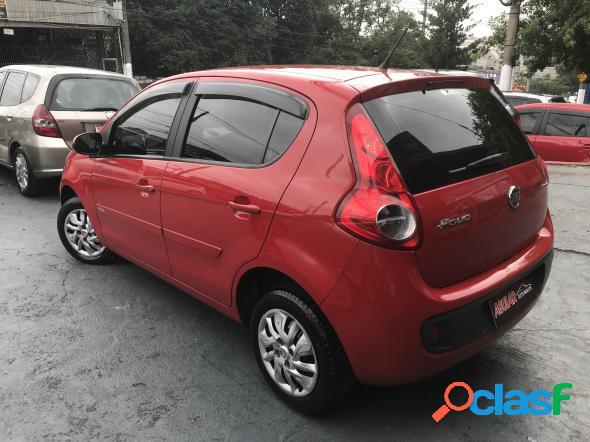 Fiat palio attractive 1.0 evo fire flex 8v 5p vermelho 2017 1.0 gasolina e alcool