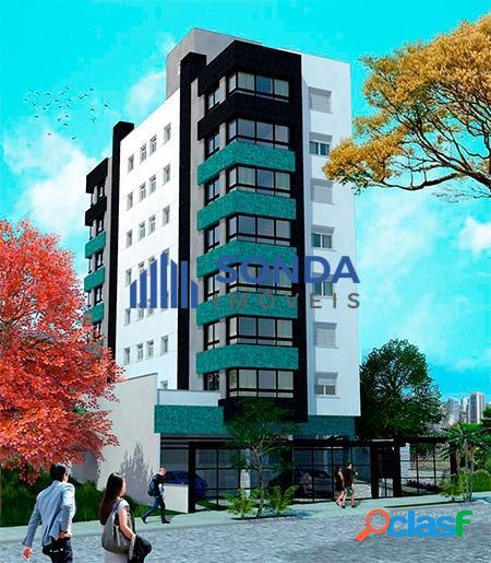 Pronto para morar! apartamento 2 dormitórios, suíte, vaga. petrópolis.