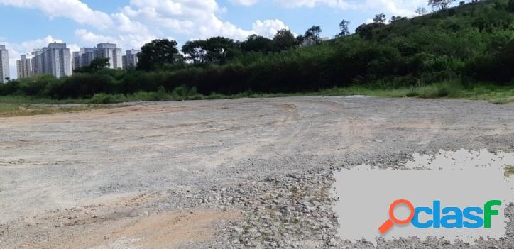 Áreas de 5.000 a 25.000 m² para Locação R$ 3,00m² em Barueri
