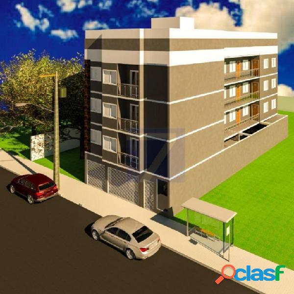 Apartamento com 2 dormitórios à venda, 37 m² vila pedroso - são paulo/sp