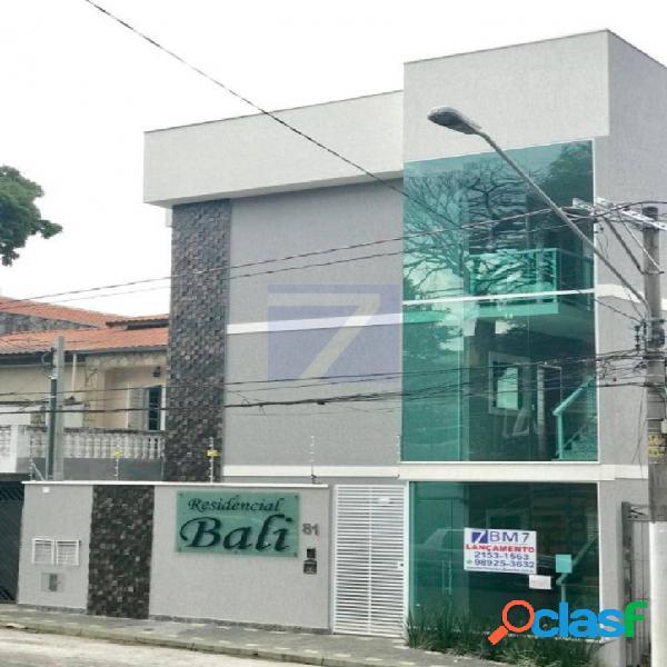 Apartamento com 2 dormitórios à venda, 38 m² vila pedroso - são paulo/sp
