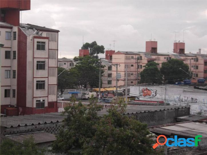 Apartamento com 2 dormitórios à venda, 50 m² por r$ 215.000 - artur alvim - são paulo/sp