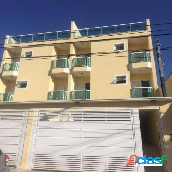 Apartamento com 2 dormitórios à venda, 60 m² por r$ 310.000 - vila curuçá - santo andré/sp
