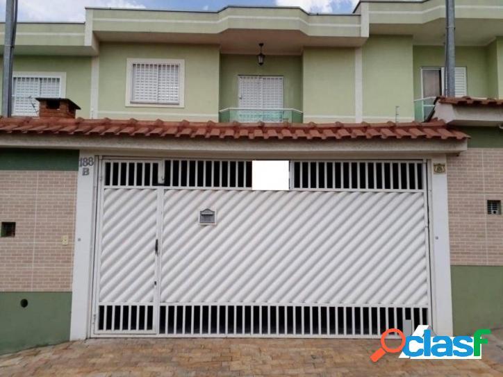 Sobrado com 2 dormitórios à venda, 90 m² por r$ 450.000 vila ré - são paulo/sp