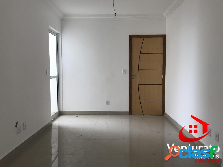 Área privativa 02 quartos, 01 vaga, elevador - são joão batista