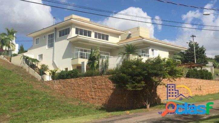 Linda casa em condomínio - alto padrão - 603m²