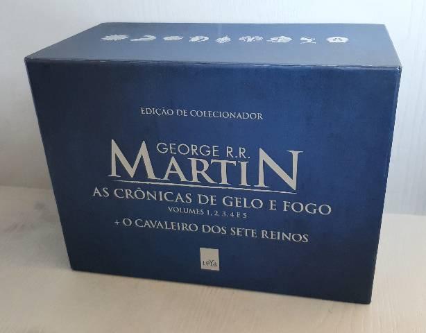 Box As Crônicas de Gelo e Fogo + O Cavaleiro dos Sete
