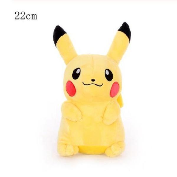 Pelúcia pokémon pikachu 22cm importada pronta entrega