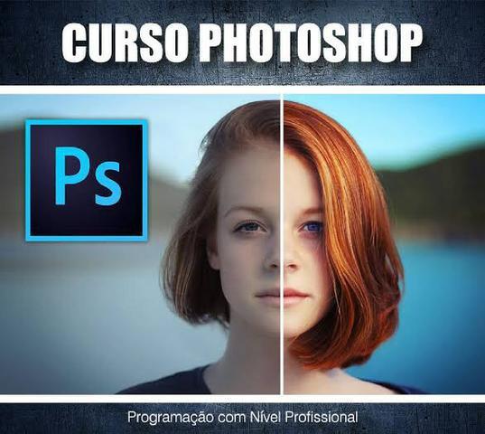 Photoshop completo design gráfico - zero ao avançado