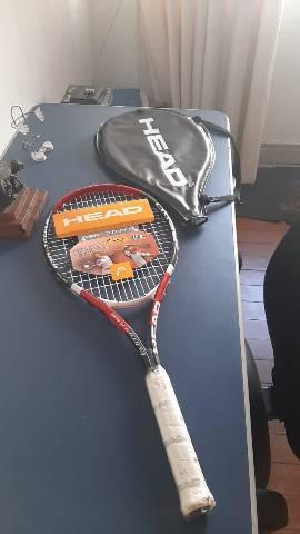 Raquete tênis head titanium nova aceito proposta