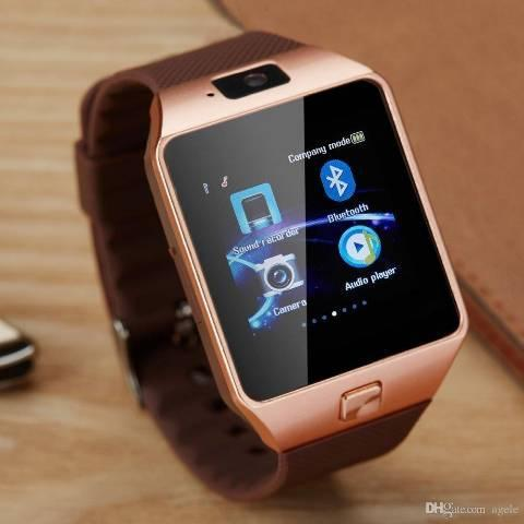 Relógio smartwatch dz09 - atenda ligações sem pegar no