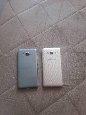 Vendo ou troco 2 celulares samsung grand prime e j2 prime