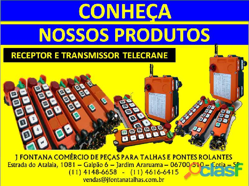 Controle remoto industrial ip 65